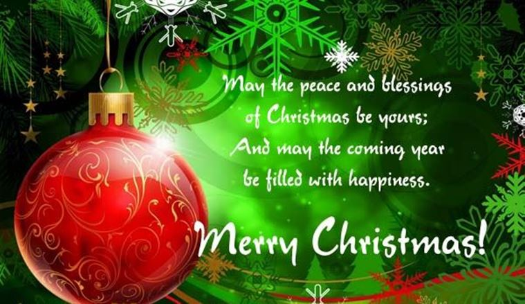 merry christmas greeting ecard image hd