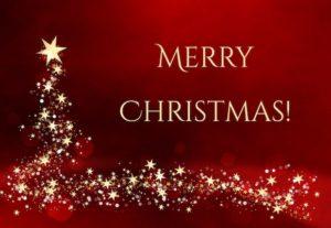 merry christmas tree ecard