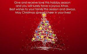 merry christmas wallpaper hd message