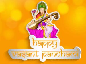 Happy Basant Panchami Wishes Greetings
