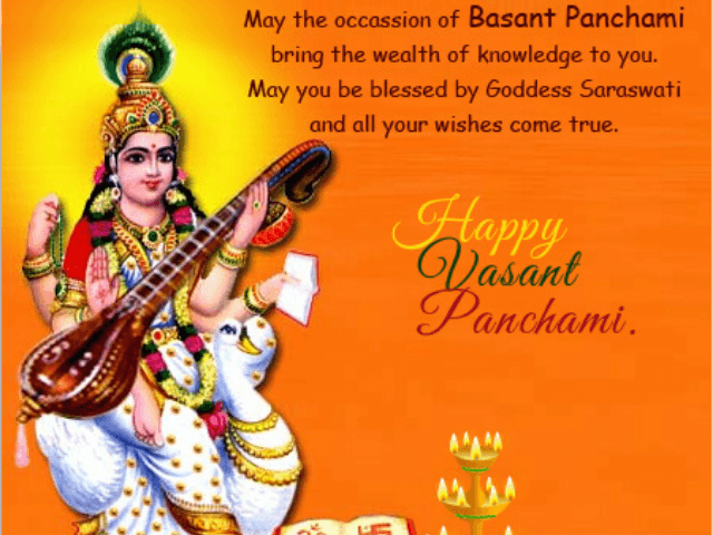 Happy Basant Panchami Wishes Quotes