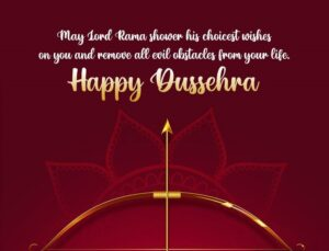 Happy Dussehra Wishes Dhanush