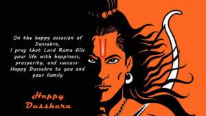 Happy Dussehra Wishes Hanuman