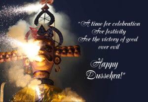 Happy Dussehra Wishes Ravan Dehan