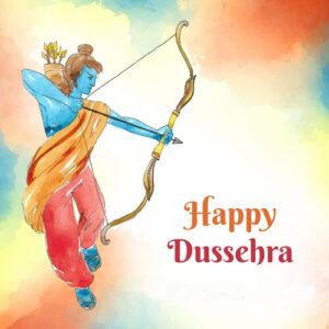 Happy Dussehra Wishes Shree Ram