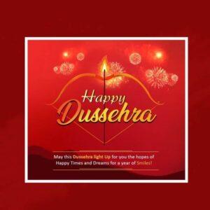 Happy Dussehra Wishes Status