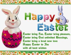 Happy Easter Sunday Wishes Bunny