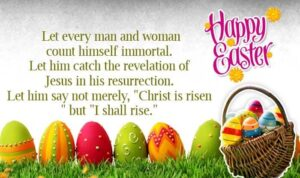 Happy Easter Sunday Wishes Eggs