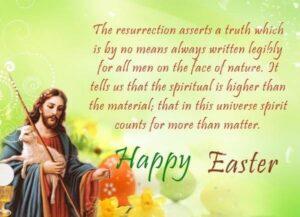 Happy Easter Sunday Wishes Jesus