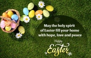Happy Easter Sunday Wishes SMS