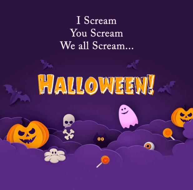 Happy Halloween Wishes Boo