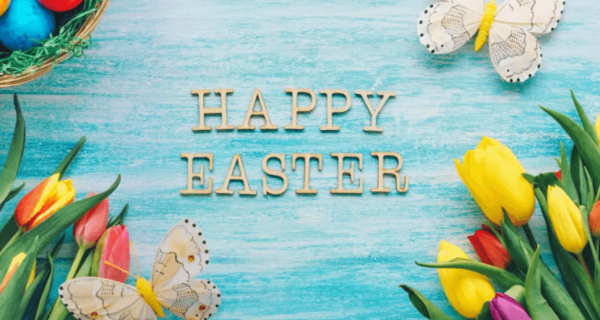 Happy Easter Sunday Wishes Butterfly