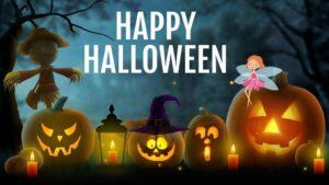 Happy Halloween Wishes Pumpkin