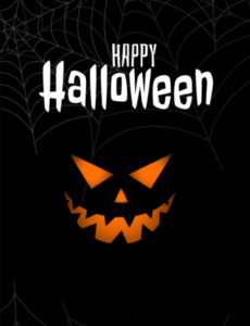 Happy Halloween Wishes Scary