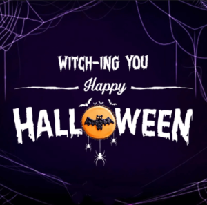 Happy Halloween Wishes Spider