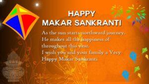 Happy Makar Sankranti Wishes Celebration