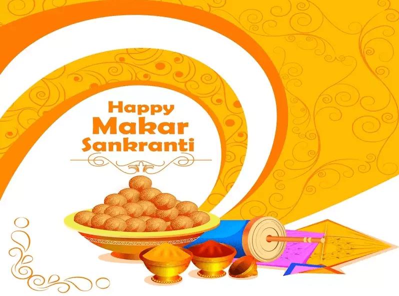 Happy Makar Sankranti Wishes Sweets