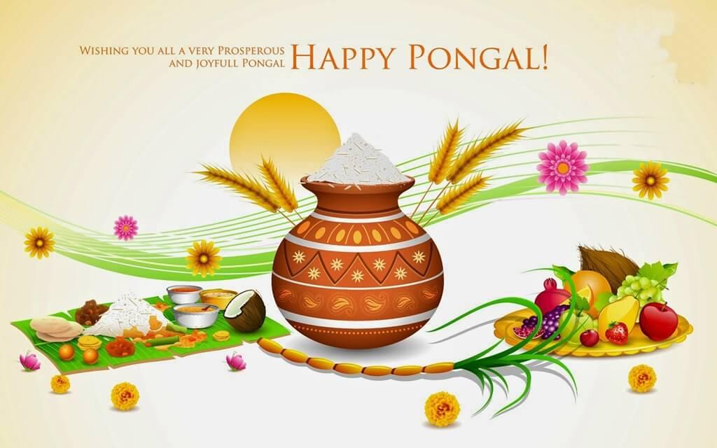 Happy Pongal Wishes Kalash