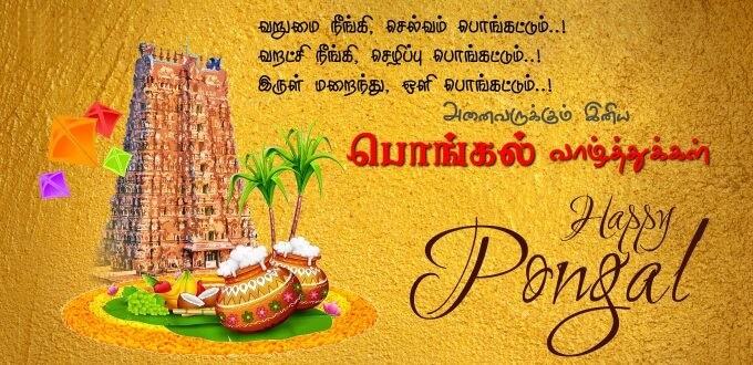 Happy Pongal Wishes Telugu & Tamil