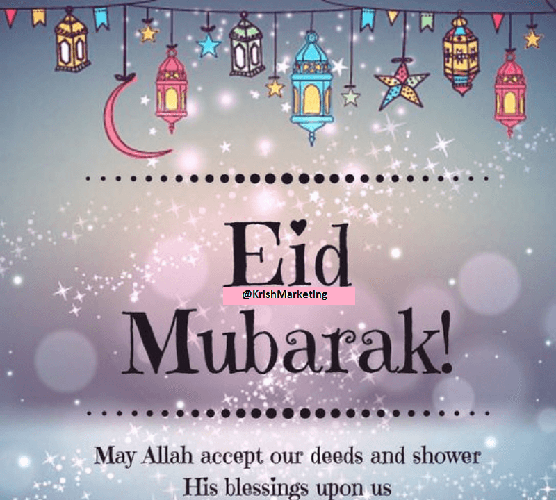Eid Mubarak Wishes Greeting