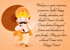 Happy Onam Wishes Messages