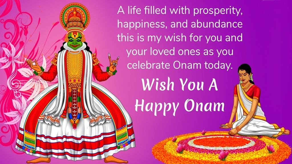 Happy Onam Wishes SMS