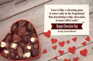 Happy Chocolate Day Box
