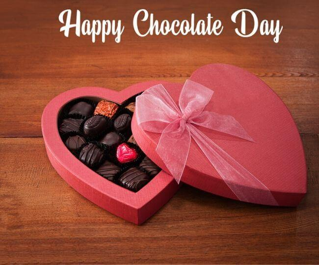 Happy Chocolate Day Gift