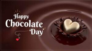 Happy Chocolate Day Heart