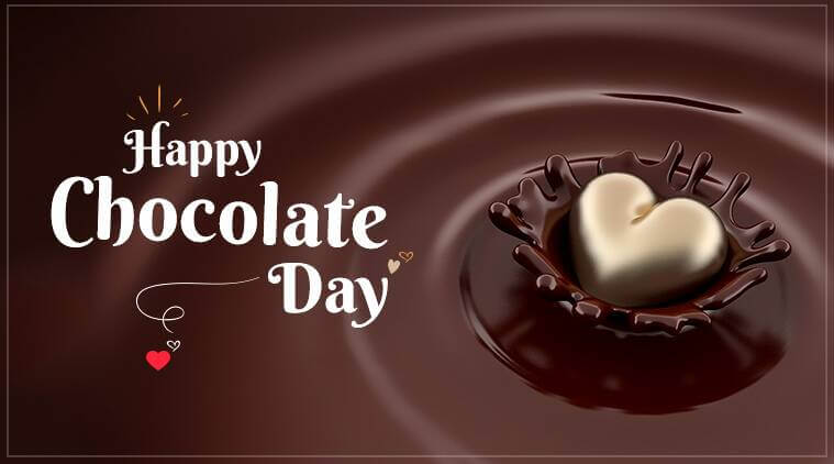 Happy Chocolate Day Heart
