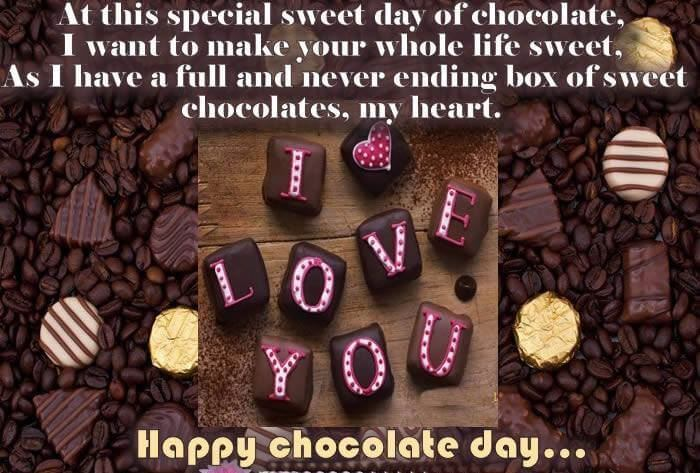 Happy Chocolate Day Love You