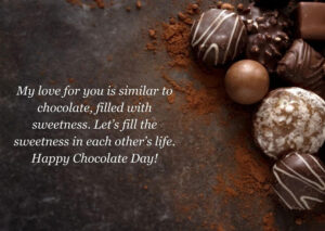 Happy Chocolate Day Message