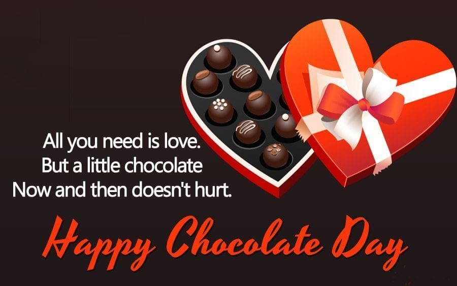 Happy Chocolate Day Wishes Date