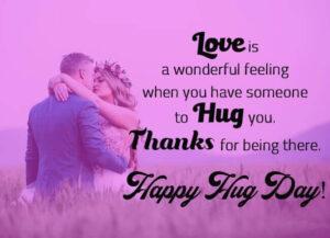 Happy Hug Day Quotes