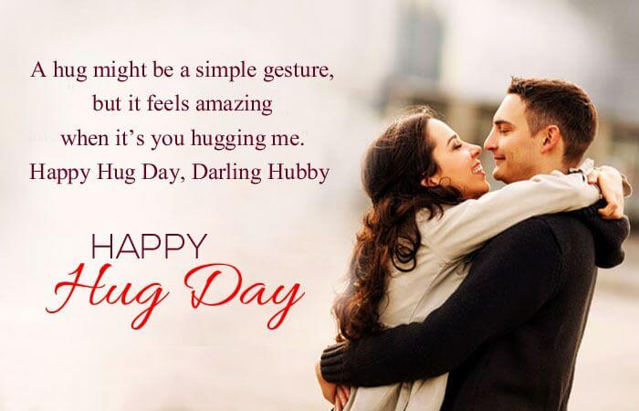 Happy Hug Day Wishes Greetings