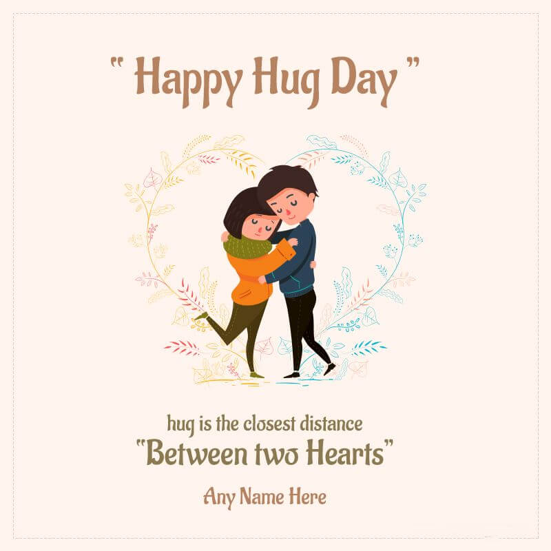 Happy Hug Day Wishes Romantic