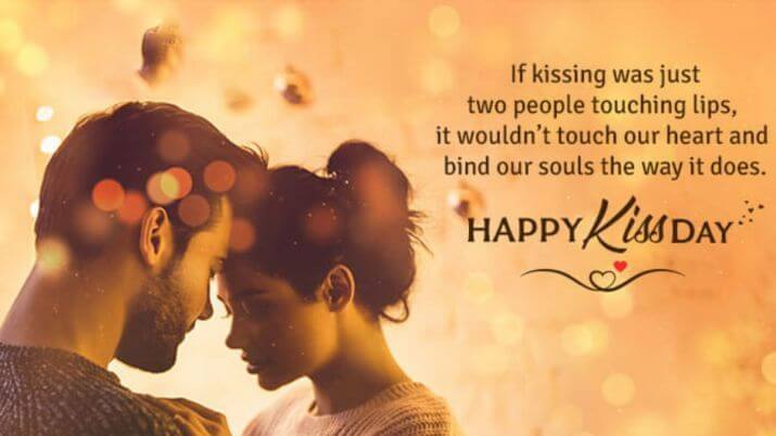 Happy Kiss Day Wishes Couple