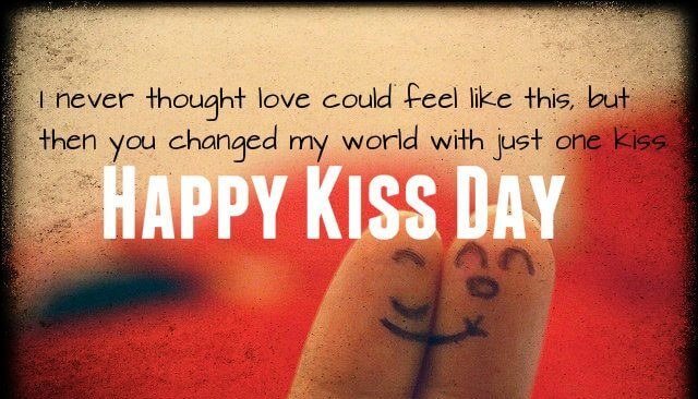 Happy Kiss Day Wishes Fingers
