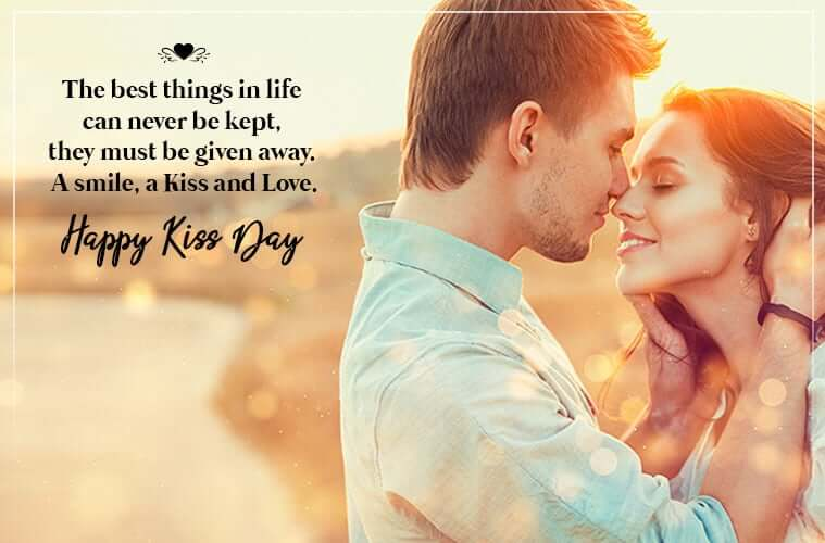 Happy Kiss Day Wishes Quotes