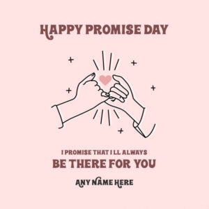 Happy Promise Day Wishes Heart