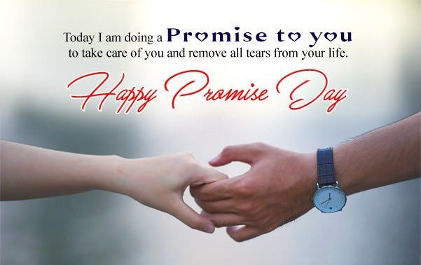 Happy Promise Day Wishes Message
