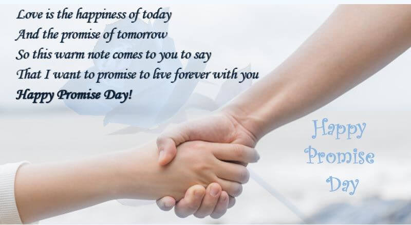 Happy Promise Day Wishes Quotes