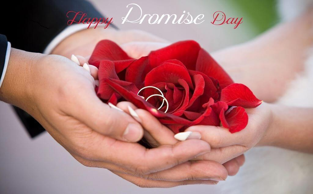 Happy Promise Day Wishes Red Rose