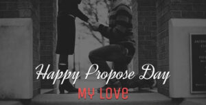 Happy Propose Day Greeting Card