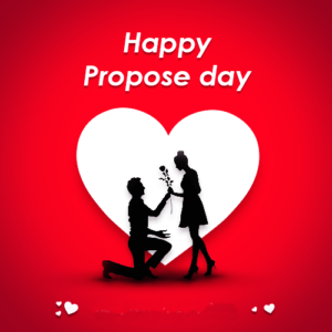 Happy Propose Day Heart