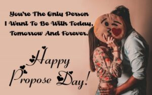 Happy Propose Day Pillow