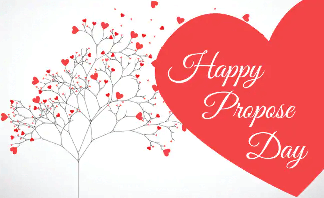 Happy Propose Day Red Heart