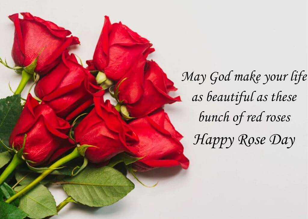 Happy Rose Day Photo