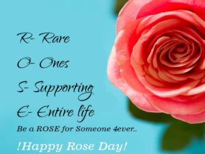 Happy Rose Day Rose