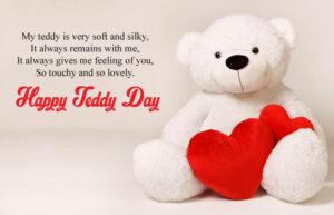 Happy Teddy Day Wishes Big
